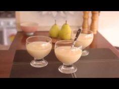 Deliciosa crema de peras para celíacos - YouTube