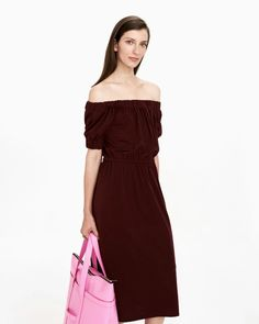 tarkoitus dress S Wine Red Color, Normal Body, Marimekko, Long Toes, New Shows, Body Shapes, The Selection, Off The Shoulder, Ready To Wear
