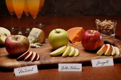 Fall Entertaining Idea from sheplansparties.com: Apple Tasting Party