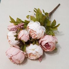 European Large Flower Peony Flower - USD $12.34 ! HOT Product! A hot product at an incredible low price is now on sale! Come check it out along with other items like this. Get great discounts, earn Rewards and much more each time you shop with us!