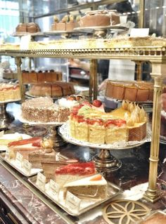 Demel Vienna. Famous Imperial and Royal pastry shop in Vienna. I NEED to go here!!!