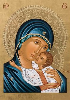 Most blessed Mother and precious Christ child