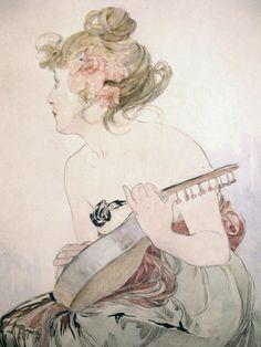 "Alphonse Mucha, 'Le Pater"" Part II"