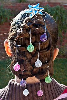 """Holiday Hairstyles: Christmas Tree @ Princess Piggies- Needing ideas for a FUN Ugly Christmas Sweater Party check out """"The How to Party In An Ugly Christmas Sweater"""" at Amazon http://www.amazon.com/Party-Christmas-Sweater-Simple-ebook/dp/B006PGBRDW/ref=sr_1_3?ie=UTF8=1354124434=8-3=the+how+to+party+in+an+ugly+christmas+sweater"""