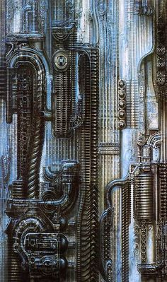 70s Sci-Fi Art: translucentmind: New York City III, Straight //...