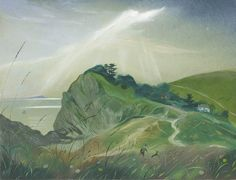 Nicholas Hely Hutchinson | (37) An Evening at Lulworth
