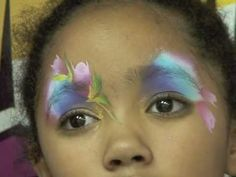 ▶ Smells like Roses - Face Painting Design Step by Step - YouTube