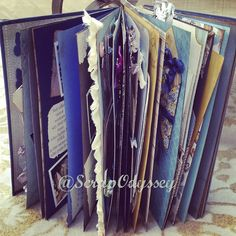 "Make your own bridal shower ""artist book"""