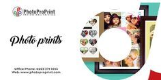 If you want to get urgent and best photo prints of your unforgettable life moments then approach Photo pro print. We provide sensational prints with amazing color effects in affordable range.  Visit our website: http://www.photoproprint.com/ or Call us: 0203 3711034