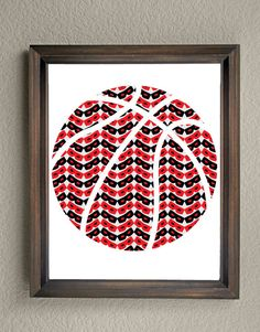 This colorful Texas Tech University Basketball print is an original pattern…