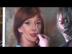 Como pintar un Retrato con la foto ..Igor Sájarov.Clases de pintura. - Pintando.org