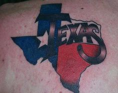 Great State of Texas Tattoo
