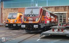 [EU] Series 187.5 in service: Akiem hands over three locomotives to HSL Logistik