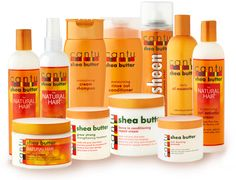 These right here is my favorite hair care products. It does my hair good! I'm a Cantu Queen :-) Cantu For Natural Hair, Natural Hair Tips, Natural Hair Journey, Natural Hair Styles, Going Natural, Natural Life, Cantu Products, Hair Products, Curly Hair Care