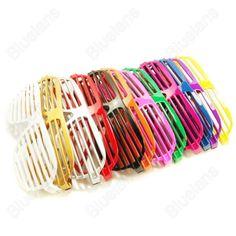 Discount China china wholesale 13 Colors Fashion Hip Hop Shutter Shades Glasses…