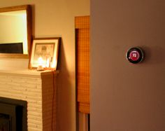 Nest Thermostat  in the next home we own, I want one! You adjust it to your preferences and over time it learns what you like and does it for you!