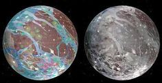 Primer mapa global de Ganímedes, luna de Júpiter