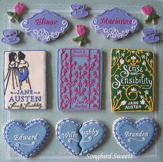 cookies for a jane austen party
