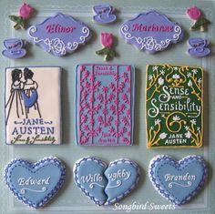 Based on the novel Sense & Sensibility by Jane Austen  http://songbirdsweets.blogspot.com/2012/04/library-week-book-collaboration.html