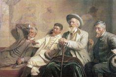Art Critics - Michael Peter Ancher 1906 - The Athenaeum