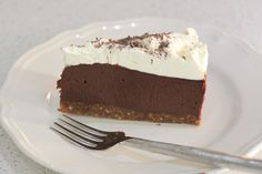 Chocolate Silk Tart #tenina #thermomix #recipe