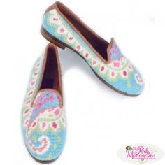 Preppy  Needlepoint Paisley Loafer  Apparel & Accessories > Shoes > Loafers