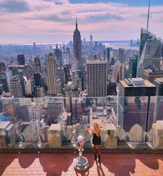 Top of the Rock, NYC The Rock, New York Skyline, Nyc, Travel, Viajes, Traveling, Trips, New York City, Tourism