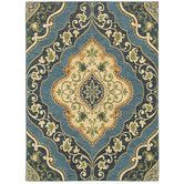 Found it at Wayfair - Mirabella Andora Blue Rug