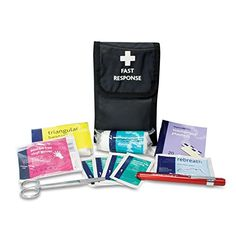 Fast Response First Aid Kit in Belt Wallet Pack: Amazon.co.uk: Office Products