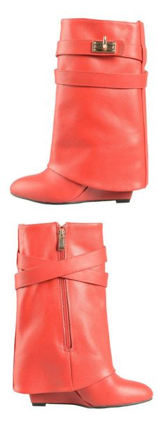 With jeans, leggings or tights. Too cute! These boots reminds me of pirates.