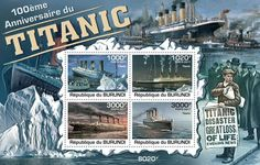 Let us pause to remember the devastation that the loss of the Titanic wreaked upon the people of Burundi. For more on this: http://punkphilatelist.wordpress.com/2015/02/17/australia-era-of-sail-clipper-ships-stamps/