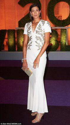 Great dress... #Wimbledon Garbiñe Muguruza #ChampionsDinner