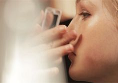 Fresh Glow - hand-applied backstage at the A/W14 show to create the make-up runway look from Burberry Beauty
