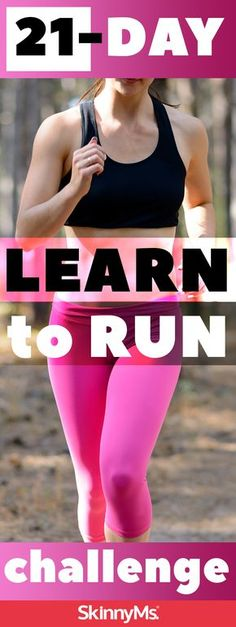 21-Day Learn to Run Challenge | Running | Beginning Workouts | Running Challenge