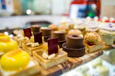 Petits fours from Essence Café French Desserts, Cafe Food, Bon Appetit, Breakfast Recipes, Lunch, Sweet, Petit Fours, Candy, Lunches