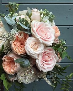 Forever in love with Sweet Avalanche! Bouquet by @fairynuffflowers #meijerroses…