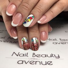Nails with Russian Cathedral
