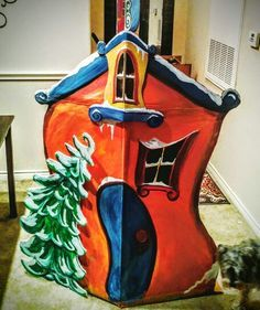 whoville house template - Google Search | Christmas ...