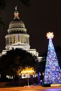 'Twas The Night Before Christmas In Austin, Texas