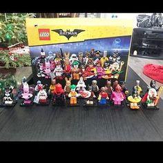 A glimpse at all of the new Lego Batman Movie Collectible Minifigures! #Lego #LegoBatman #LegoBatmanMovie #BatmanMovie #Collectible #CollectibleMinifigures #New #DCcomics #BrickShowTV