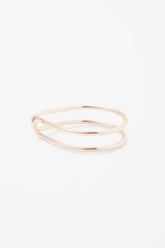 Looped bangle - Rose Gold - Jewellery - COS SE