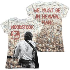 Woodstock Apart From The Crowd Junior All Over Print 100% Poly T-Shirt