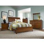 Broyhill Furniture - Hayden Place Light Cherry Sleigh Bedroom Set - BRO-4648-270-271-450-ROOM
