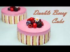 라즈베리 생크림 케이크 만들기 / Sweet Raspberry Cream Cake Recipe / ダブルベリークリームケーキ / डबल बेरी क्रीम केक - YouTube