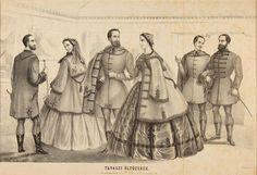 Magyar divat 1860