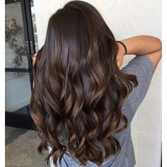 Black Coffee Hair With Ombre Highlights - 10 Cool Ideas of Coffee Brown Hair Color - The Trending Hairstyle Brown Hair Cuts, Brown Hair Looks, Golden Brown Hair, Brown Hair Shades, Light Brown Hair, Dark Hair, Brown Hair Balayage, Brown Ombre Hair, Brown Blonde Hair