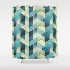 Triangular Shower Curtain by Cute Shower Curtains, Bathroom, Prints, Washroom, Full Bath, Bath, Bathrooms