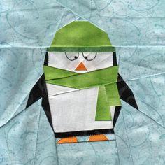 Little Penguin Polaris - Paper Piecing Pattern (lots more fun paper piecing patterns!)
