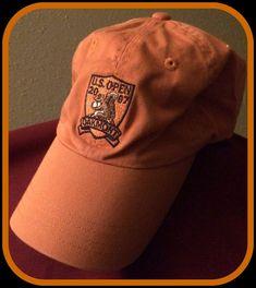 06d5d890fc293 VINTAGE 2007 U.S.OPEN AT OAKMONT PENNSYLVANIA BUCKLEBACK EMBROIDERED ADULT  CAP