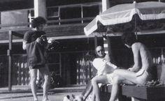 John, Keith, Wiggy, and Pete in Australia - 1968